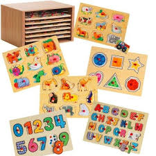 Wooden Peg Games Wooden Peg Puzzles for Toddlers Set of 100 Educational Toys Expert 99