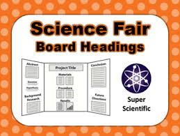 science fair headings printable science fair headings teaching resources teachers pay teachers