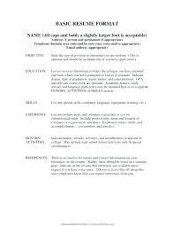 Basic Resume Template Free Basic Resume Template Free Samples