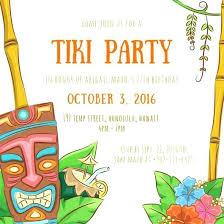 Hawaiian Themed Invitations Party Invitations And Luau Invitation