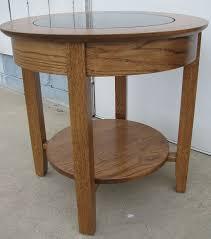 quarter sawn oak hardwood round with legs