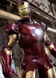 the real thing iron man played by robert downey junior shows off his