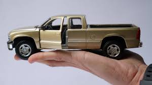 Unboxing of Chevrolet Silverado Pickup Truck 1:27 Scale Diecast ...
