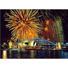 5d diy full round diamond embroidery sydney city night scenery