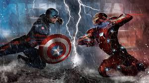 captain america vs iron man ic 5k 8q