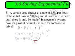exponential growth word problems