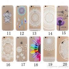 Dream Catcher Case Iphone 7 Plus Henna White Floral Paisley Flower Mandala Dream Catcher Pc Cases 38