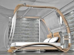 Unique Modern Canopy Bed : The Holland - Romantic Touch Modern ...