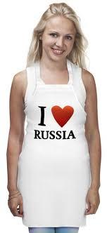 <b>Фартук I love</b> Russia #163896 от Андрей Саенко