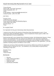 advertising sales executive cover letter advertising sales agent cover letter