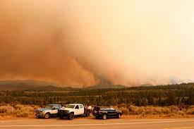 California's Tamarack Fire threatening ...