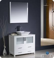 modern white bathroom cabinets. Beautiful Modern Fresca Torino 36 Inside Modern White Bathroom Cabinets I
