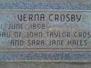 Verna Crosby Born: 1 Jun 1898 BillionGraves Record