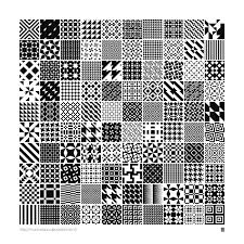 Illustrator Pattern Fill Mesmerizing Monochrome Geometric Patterns By MartinIsaac On DeviantArt