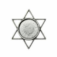 <b>10 Pieces</b> Cabochon Cameo Base Tray Bezel Blank Diy Jewelry
