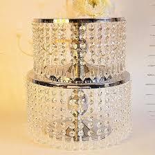 new 2set chandelier cake stand set