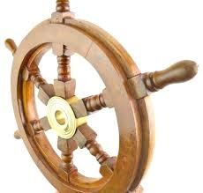 captains wheel decor ship wheel decor nautical wall wooden wood boat ship wheel decor