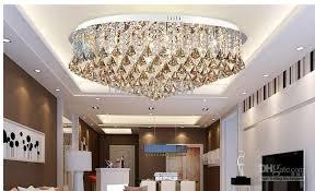 luxurious lighting. Luxurious Living Room Lamp Modern Crystal Ceiling Lighting Simple D800MM L