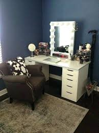 vanity set cool girl mirror dupe com follow me girls and tables hollywood ikea