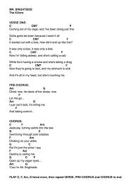 The Killers Mr Brightside Ukulele In 2019 Ukulele Songs