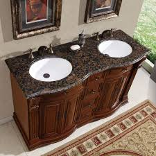Double Bathroom Sink Cabinet 55 Silkroad Empress Double Sink Cabinet Bathroom Vanity Hyp