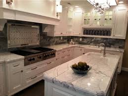 Dark Granite Countertops With White Kitchen Cabinets Home Reviews