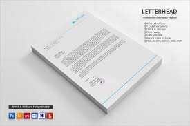 free personal letterhead 20 personal letterhead templates free sample example format