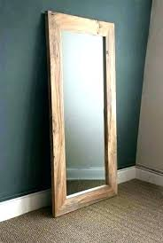 wooden framed wall mirrors wood small large frame mirror best of
