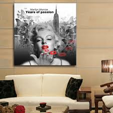 latest famous girls portrait of marilyn monroe pictures painting canvas print wall art movie poster and on famous wall art prints with latest famous girls portrait of marilyn monroe pictures painting