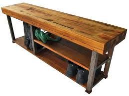 Boot Bench With Coat Rack Metal Entryway Bench With Wood Seat Shoe Coat Rack Storage Image 74
