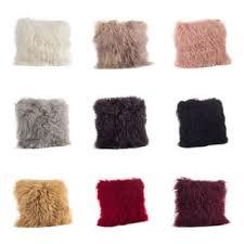 where to buy cheap throw pillows. Fine Cheap SALE Wool Mongolian Lamb Fur Throw Pillow On Where To Buy Cheap Pillows