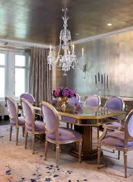elegant dining room the walls and ceiling have been treated the same rustic gold color carpet on the floor adds the lush feel table top has gloss