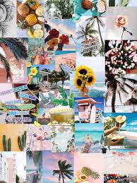Summer Wallpapers, Collage Backgrounds ...