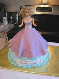 Barbie Cake Designs Ideas Kidsbirthdaycakeideasga