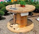 Стол для сада из дерева своими руками