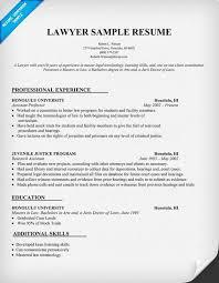 Lawyer Resume Sample (resumecompanion) #Law #Legal Resume - lawyer resume  example