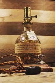 Blanton S Bottle Light Blantons Bourbon Lamp In 2020 Whiskey Bottle Crafts