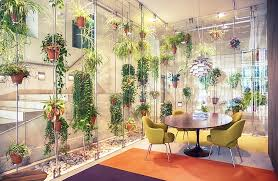 contemporary office spaces. plant filled contemporary office space spaces a
