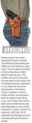 memes alaska and black amprican handker alaska hunter hip holster diamond d custom