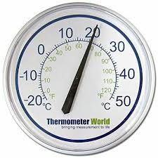 garden thermometer large 300mm for