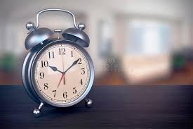 Superb Download Retro Alarm Clock On Bedside Table In Bedroom Stock Illustration    Illustration Of Blur,
