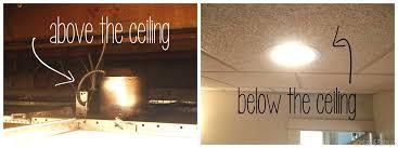 recessed lighting suspended ceiling designs