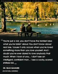 best good will hunting ideas good will hunting good will hunting quote robin williams