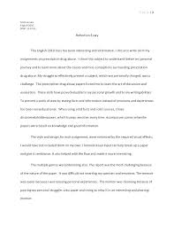 Personal Reflective Essays Examples Personal Reflection Essay Example Administrativelawjudge Info