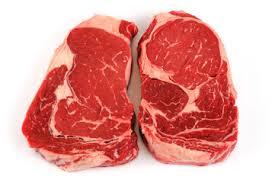 raw ribeye steak. Interesting Raw Fresh Raw Rib Eye Steak On White Background On Raw Ribeye Steak