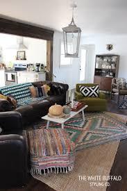lantern light in living room