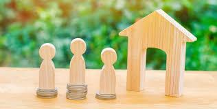 Premium Vector | Real estate investment, mortgage concept flat illustration  design
