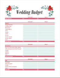 Wedding Planning Budget Wedding Budget Planners Under Fontanacountryinn Com