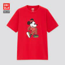 Áo Thun Uniqlo Lelaki (ut) 433694 In Hình Chuột Mickey Dễ Thương chính hãng  597,500đ