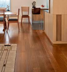 Flooring For Dining Room Dark Wide Plank Oak Hardwood Floors In Dining Room With Small